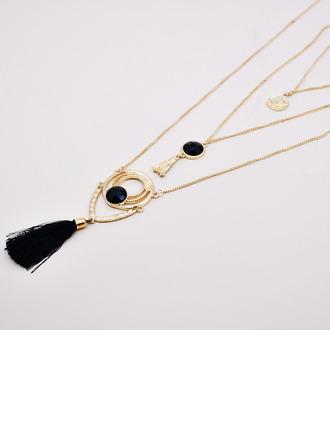 Ladies' Vintage Alloy/Crystal Necklaces