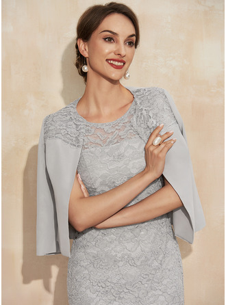Chiffon Lace Special Occasion Wrap