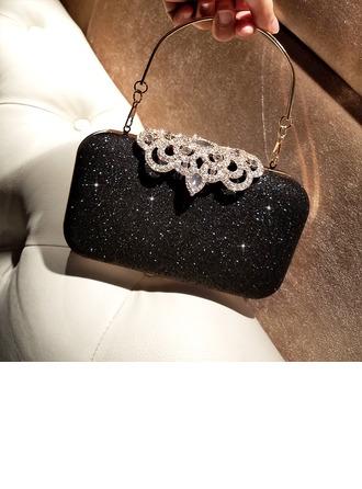 Elegant Alloy Clutches/Satchel/Top Handle Bags