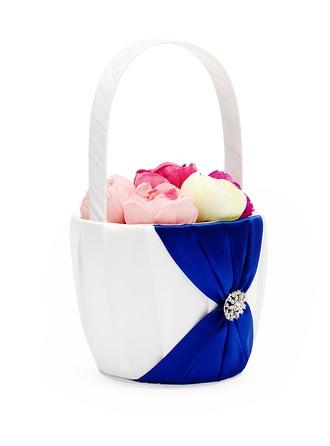 Satin Flower Basket
