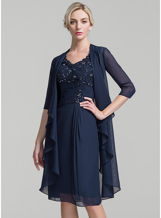 3/4-Length Sleeve Chiffon Special Occasion Wrap