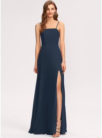 Square Neck Sleeveless Maxi Dresses
