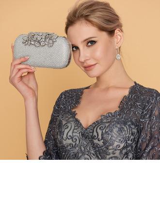 Charming Crystal/ Rhinestone Clutches/Wristlets/Satchel