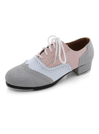 Unisexmodell Microfiber Lær Flate sko Trykk Dansesko