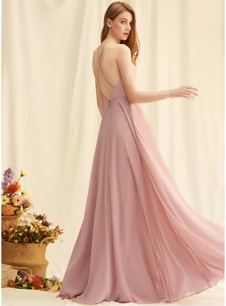 Round Neck Square Neck Sleeveless Maxi Dresses
