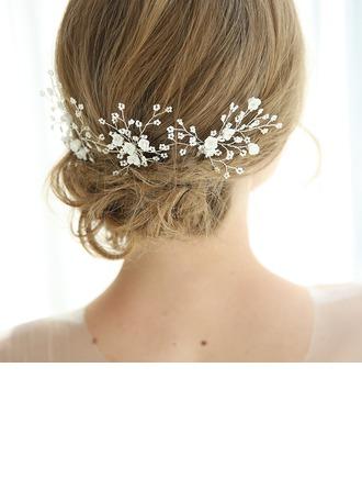 Elegant Rhinestone Hairpins With Rhinestone (Set of 3)