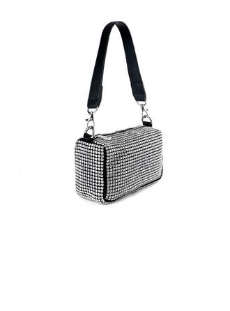 Bright Crystal/ Rhinestone Top Handle Bags