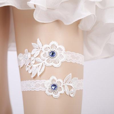Bryllupssuite/Kvinnelige Elegant Blonder Garters (sett Med 2)