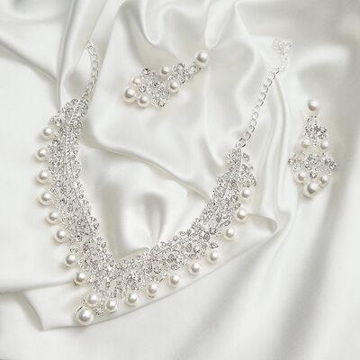 Nydelig Legering/Perle Damene ' Smykker Sett