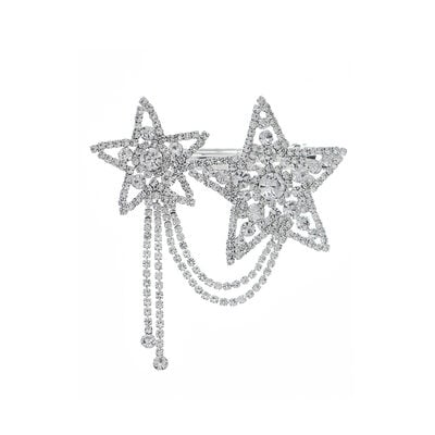 Ladies Beautiful Rhinestone Hairpins With Rhinestone (Sold in single piece)