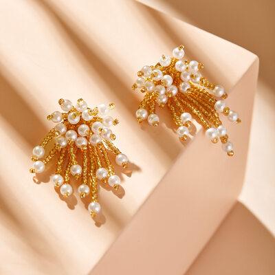 Damene ' Elegant Perle øredobber