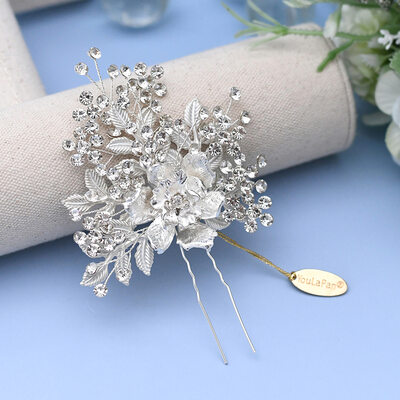 Ladies/Kids Beautiful Crystal/Rhinestone/Alloy Hairpins With Rhinestone/Crystal/Imitation Crystal (Sold in single piece)