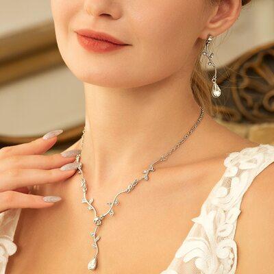Classic Zircon Ladies' Jewelry Sets