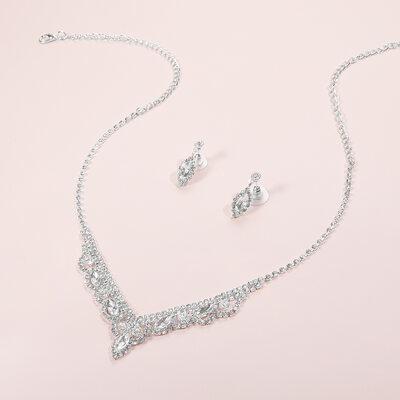 Classic Copper With Rhinestone Ladies' Jewelry Sets