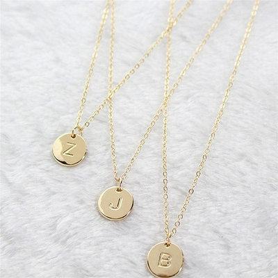 Attractive Alloy Initial Necklaces Necklaces For Bride/For Bridesmaid