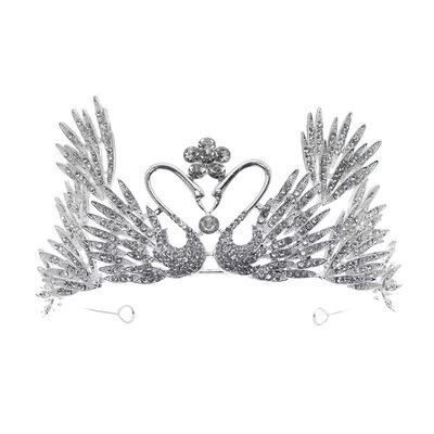 Damer Vakkert Rhinestone/Legering Tiaraer med Rhinestone (Selges i ett stykke)