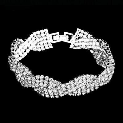 Ladies' Beautiful Alloy/Rhinestones Bracelets