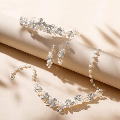 Klassisk stil Legering/Perle/Rhinestones Damene ' Smykker Sett