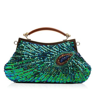 Shining Satin Clutches/Wristlets/Top Handle