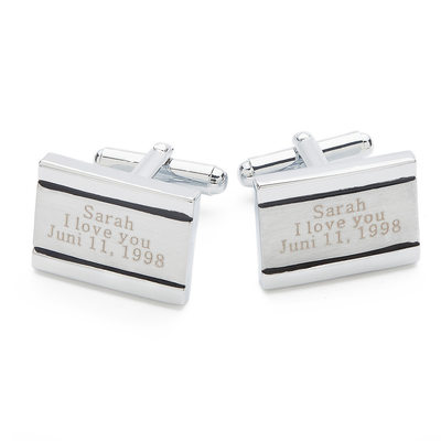 Personalized Classic Style Copper Cufflinks (Personalized information is only English)