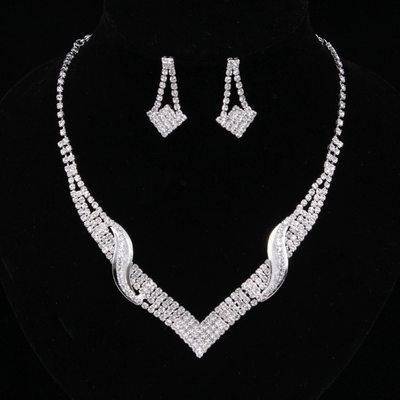 Elegant Legering/Rhinestones Damene ' Smykker Sett