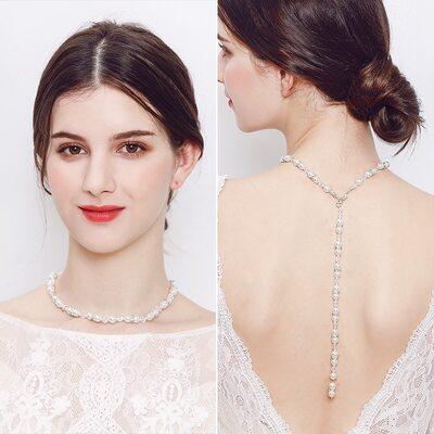 Damene ' Vakkert Perle Perle Halskjeder