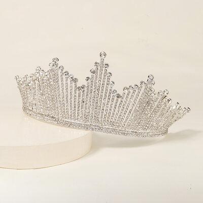 Damer Elegant Legering Tiaraer med Rhinestone (Selges i ett stykke)