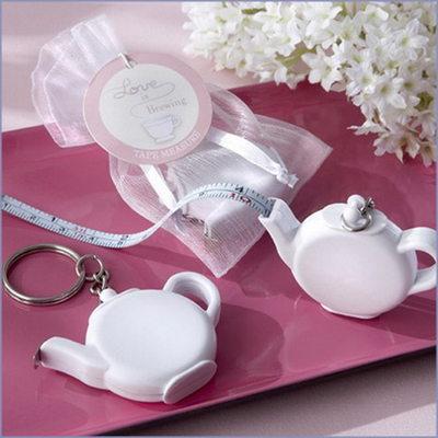 Brudepike Gaver - Porselen nøkkelring