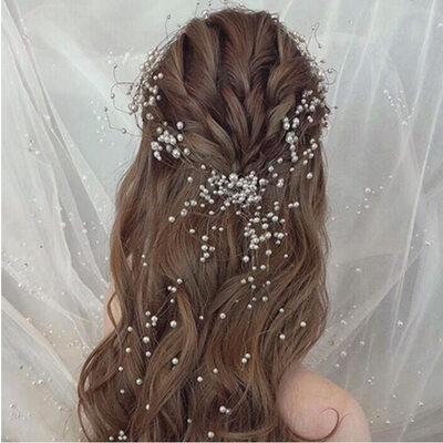 Elegant Alloy/Imitation Pearls Headbands