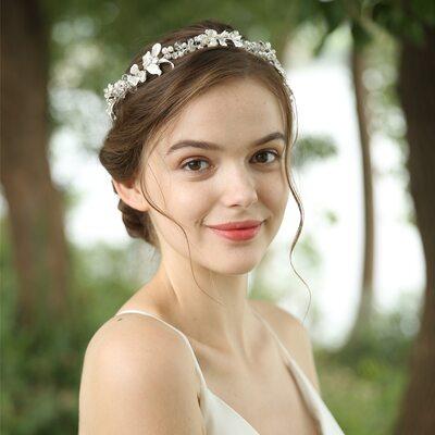 Ladies Gorgeous Crystal/Imitation Pearls Headbands With Rhinestone/Venetian Pearl/Crystal (Sold in single piece)