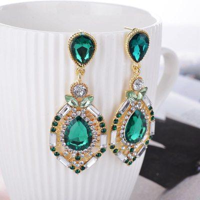 Gorgeous Alloy/Rhinestones Ladies' Earrings