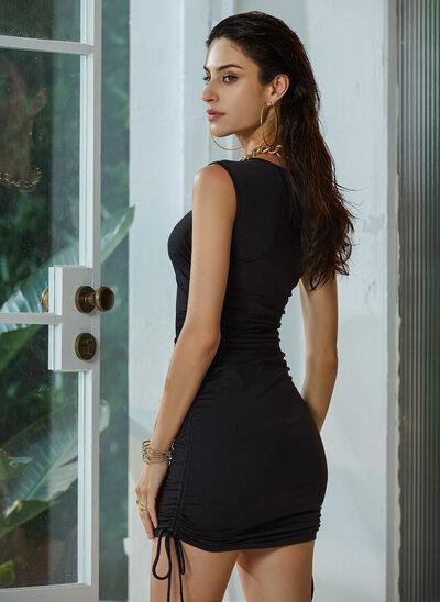 Sheath/Column Short/Mini Homecoming Dress