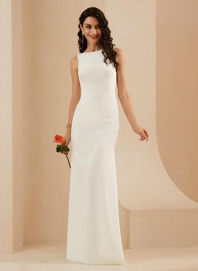 Trumpet/Mermaid Floor-Length Wedding Dress