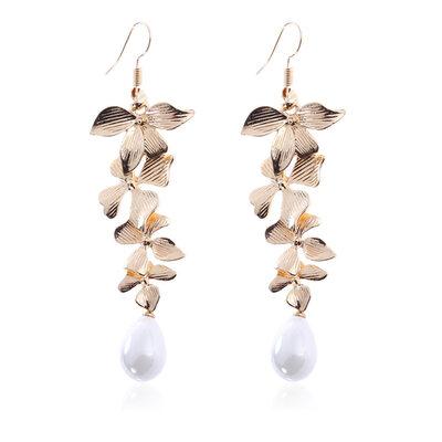 Ladies' Elegant Alloy/Imitation Pearls Imitation Pearls Earrings For Her