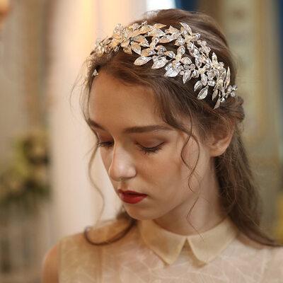 Magnificent Crystal/Alloy/Imitation Pearls Headbands