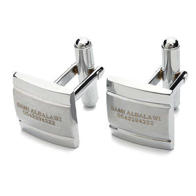 Groomsmen Gifts - Personalized Classic Zinc alloy Cufflinks