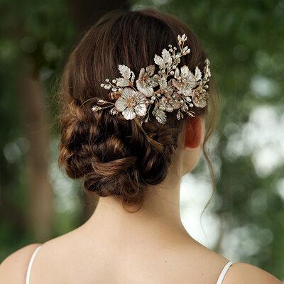 Beautiful Rhinestone/Alloy/Pearls Tiaras