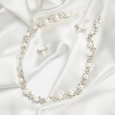 Beautiful Alloy With Pearl/Rhinestone Ladies' Jewelry Sets