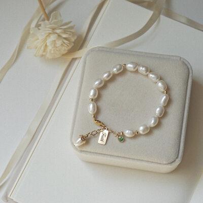 Imitation Pearls Bracelets