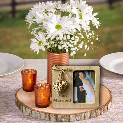 Bride Gifts - Beautiful Wooden Ornaments