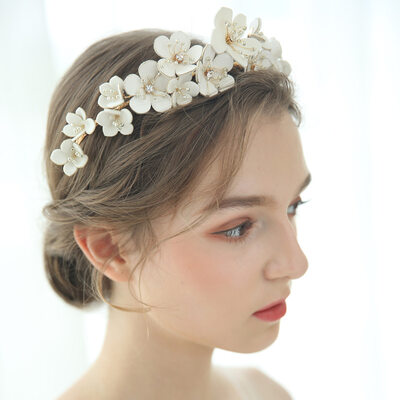 Beautiful Leatherette/Beads Tiaras