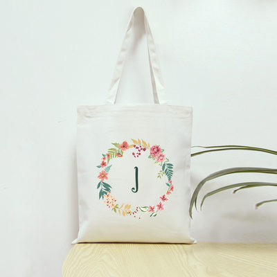 Brudepike Gaver - Personlig Canvas Stil Lerret Bag