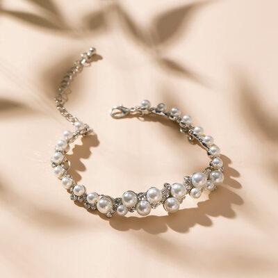 Klassisk stil Legering/Rhinestones/Imitert Perle Damene ' Armbånd