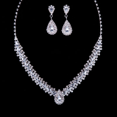 Gorgeous Alloy With Rhinestone Jewelry Sets