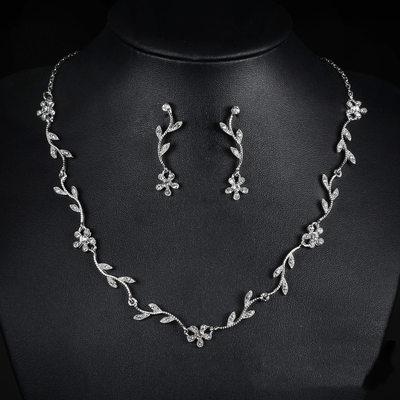 Beautiful Alloy/Rhinestones Ladies' Jewelry Sets