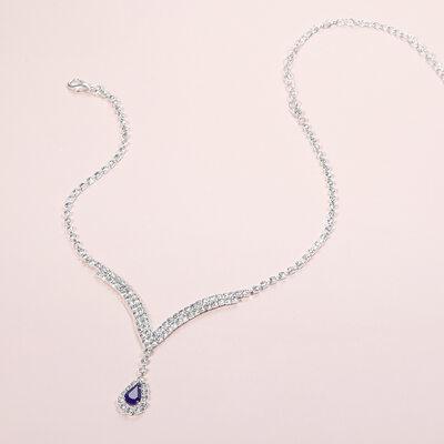 Gorgeous Alloy/Rhinestones Ladies' Jewelry Sets