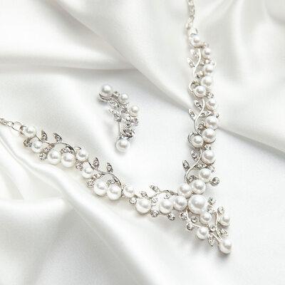 Alloy/Rhinestones/Imitation Pearls With Rhinestone/Imitation Pearls Ladies' Jewelry Sets