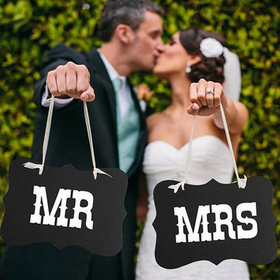 Bride Gifts - Elegant Wooden Photo Booth Prop