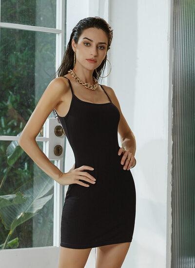 Square Neckline Short/Mini Homecoming Dress