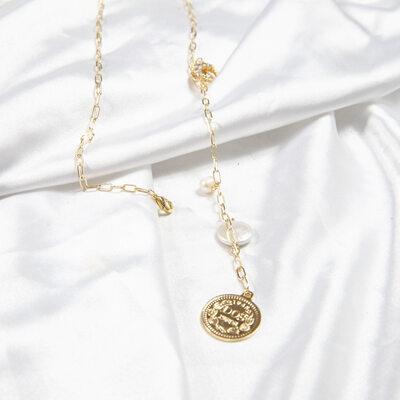Damene ' vintage stil Perle/kobber/Gold Plated Perle Halskjeder For Henne